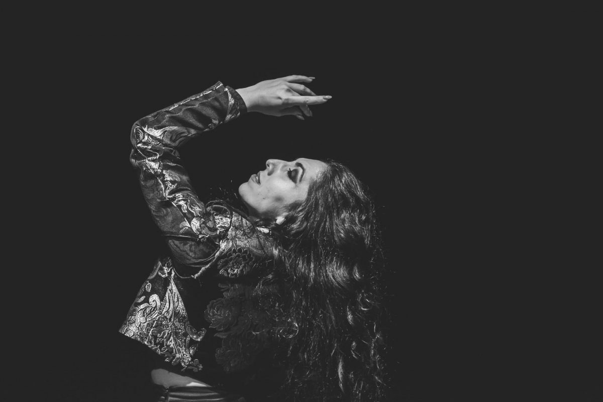 Gorący temperament flamenco