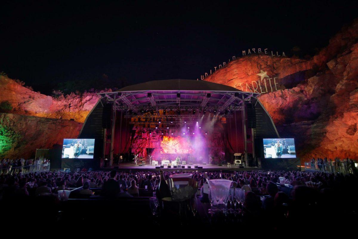 Koncerty wśród skał – festiwal Starlite w Marbelli